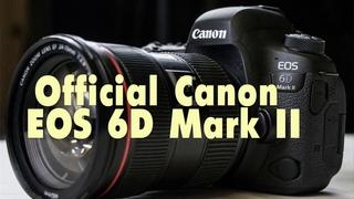 Official Canon EOS 6D Mark II canon eos r canon 6d mark ii froknowsphoto canon 6d mark