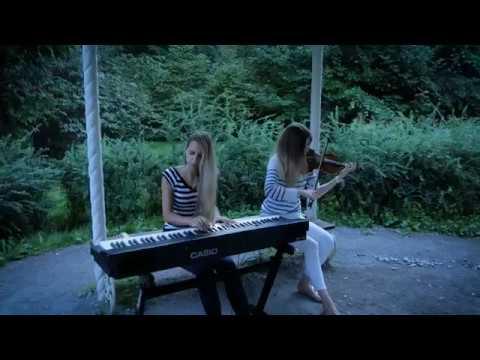 Любэ Давай за на скрипке и пианино