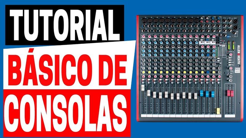 ♻️ Tutorial Básico De Consolas De Audio | Allen Heath Zed 2020 Mixman Dj 🔥