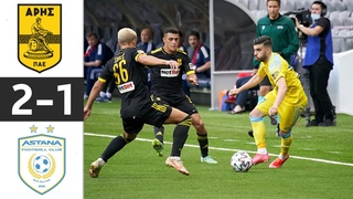 🔥 Арис - Астана 2-1 - Обзор Матча Второй раунд Лиги Конференций 29/07/2021 HD 🔥