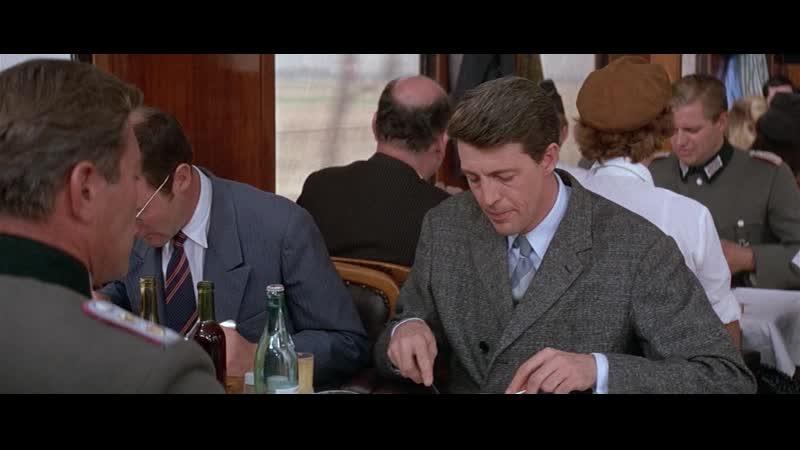Большая прогулка 1966 Франция Великобритания вагон ресторан