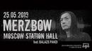 Merzbow feat. Balazs Pandi 25/05/2019. Moscow. Station Hall