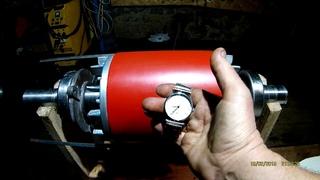 Проект и постройка 10 кВт генератора для ветрогенератора.  Конечный результат.