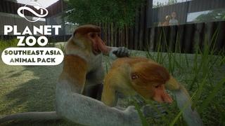 Planet Zoo - Southeast Asia - Обзор обновления #2