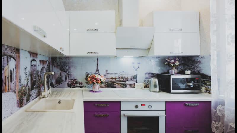 Видеообзор угловой кухни для Натальи и Дианы