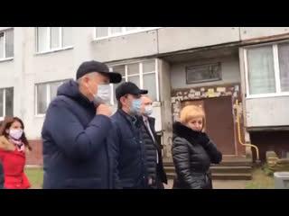 Губернатор Ленинградской области раскритиковал благоустройство в городе Сясьстрое