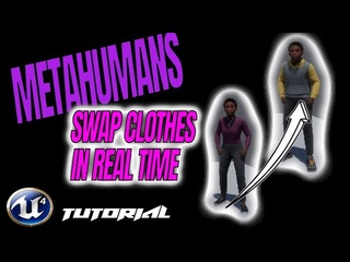Tutorial, Third Person Character Metahumans | Use MetaHumans as a 3rd person in game & SWAP assets