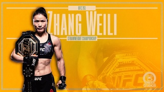 UFC 261 - Zhang Weili Hype Video | EXCERPT FROM FOTY VIDEO | #UFC261
