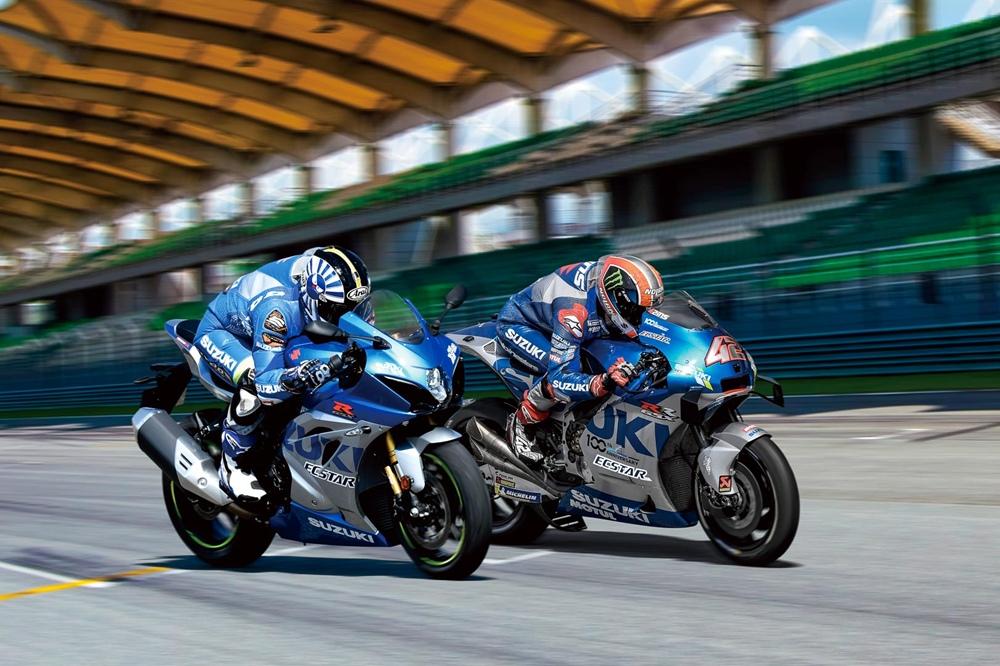Юбилейные мотоциклы Suzuki GSX-R1000R, GSX-R750, GSX-R600 100th Anniversary 2021