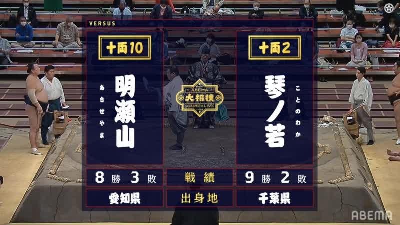 Akiseyama vs Kotonowaka - Aki 2020, Juryo - Day 12