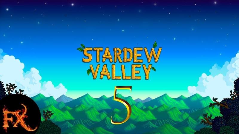 Stardew Valley День 5 Доставка и Жеода