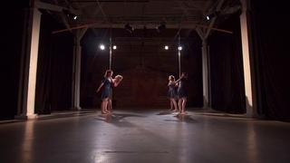 Contemporary pole, групповой номер, Наталья Гусева   Kat's dance studio, отчётный концерт, май 2018