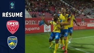 DIJON SCO - FC SOCHAUX MONTBELIARD (1 - 3) - Résumé - (DFCO - FCSM) / 2021-2022