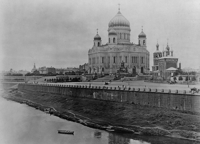 Храм Христа Спасителя 1912 год.