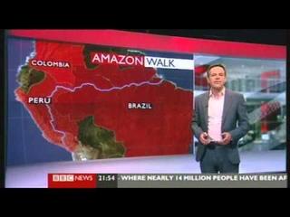 BBC News - Ed Stafford completes Amazon