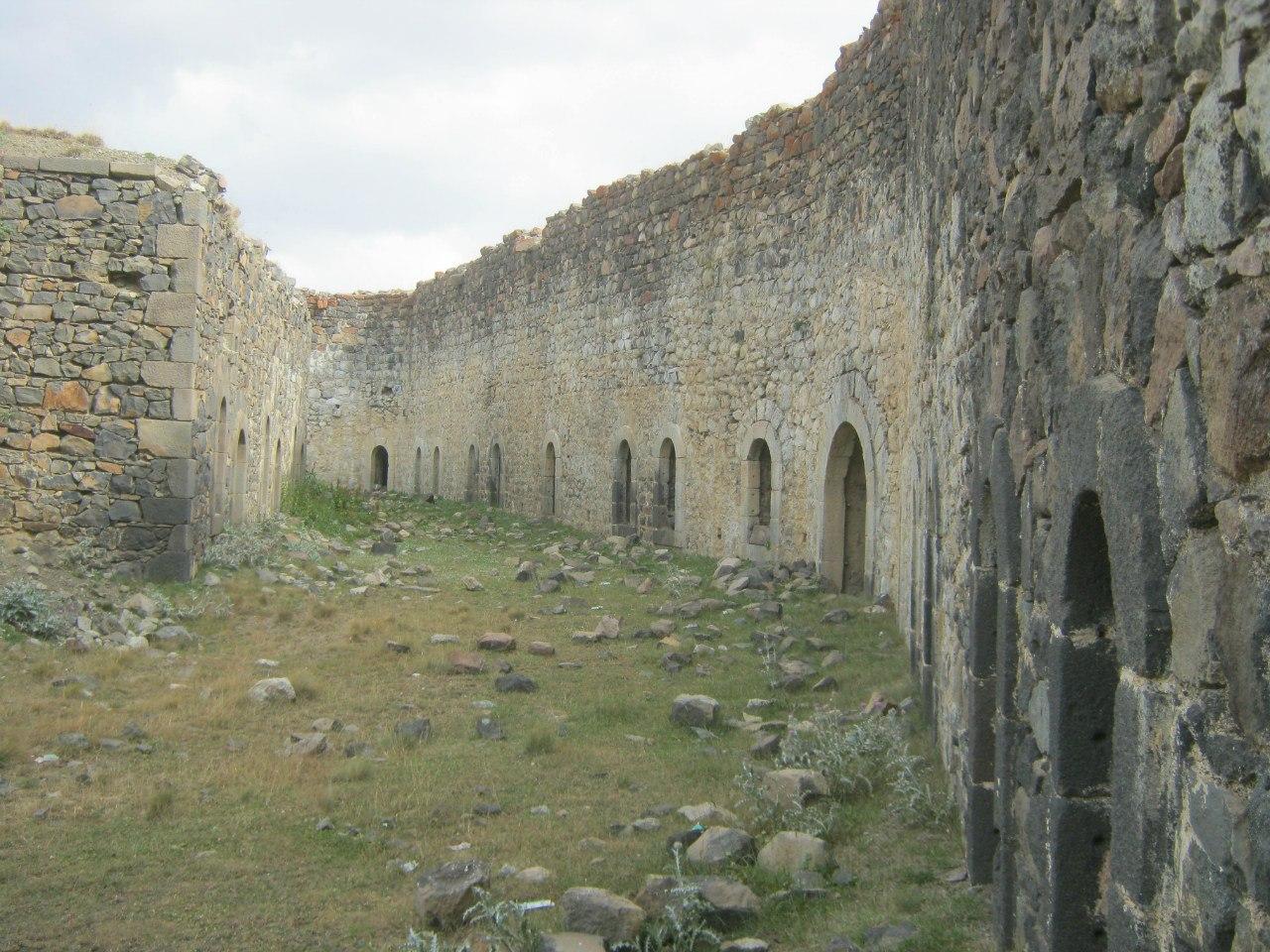 бастион на горе Паландокен