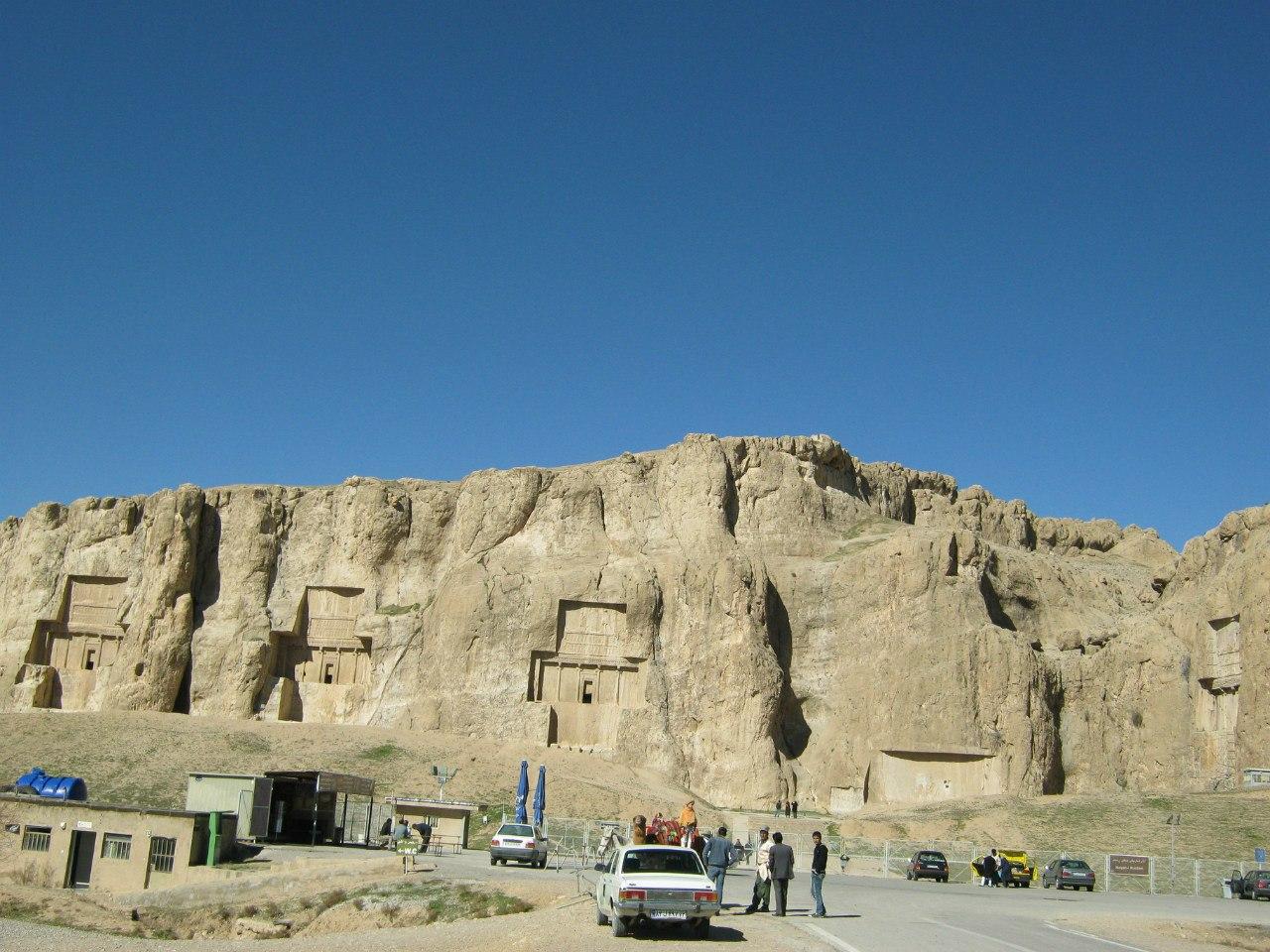 гробницы Накш-е Рустам