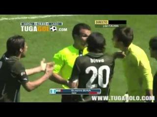 Napoli Lazio 4-3 - Ampia Sintesi - Highlights & All Goals - 03-04-2011