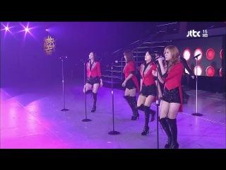Sistar – Intro + Ma Boy (Remix) @ JTBC The 26th Golden Disk 2012-01-20