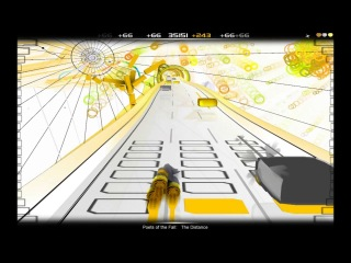 [Audiosurf] Poets Of The Fall - The Distance