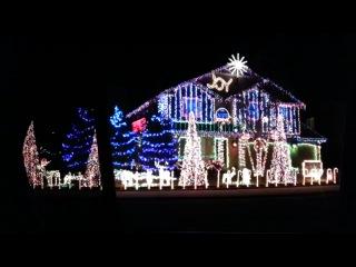 Cadger Dubstep Christmas Lights House 2012