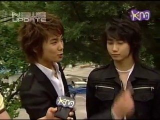 20050607 SS501 - Warning MV Making on KM News