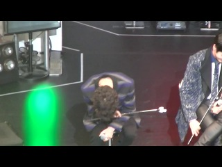 """[fancam:fan event] 140331 b.a.p @ фанмитинг """"the first date with baby japan"""" в токио. (yongguk focused)"""