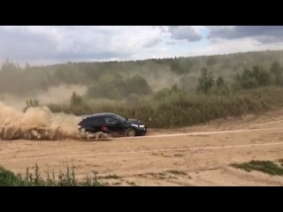 Subaru WRX STI - Тренировка Road Professionals summer'14 () (Slow Motion)