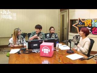 [140315] MBC C-Radio Idol True Colours, в гостях Хичоль 2/4 [русс. саб]