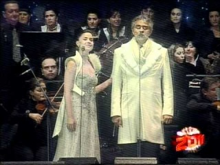 """Time To Say Goodbye"" by Andrea Bocelli & Sopho Nizharadze. Batumi, Georgia"