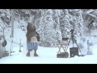 Медведь неожиданно появился на съемках (озвучка Тольяттинского парня Кураж-Бамбей)