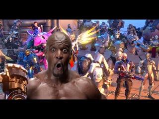 If Terry Crews voiced Overwatch heroes