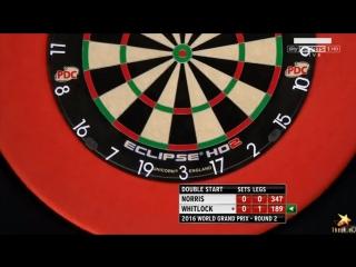 Alan Norris vs Simon Whitlock (PDC World Grand Prix 2016 / Round 2)
