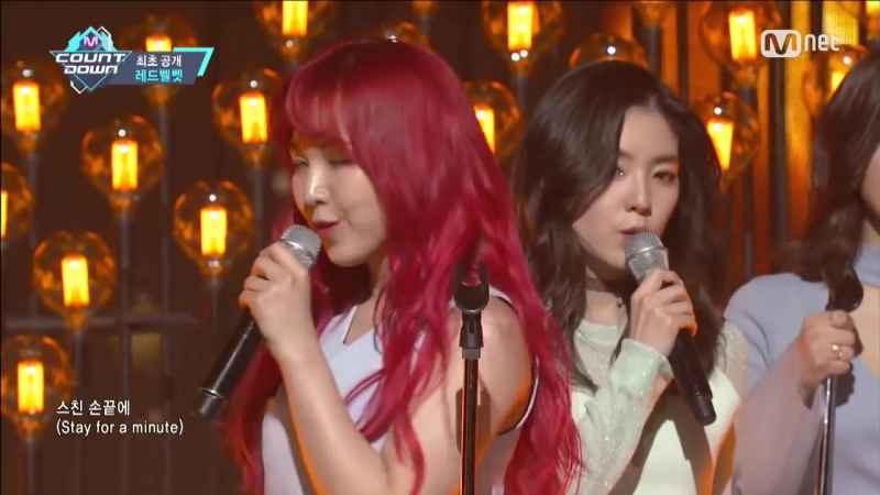 Red Velvet(레드벨벳) - One of These Nights Comeback Stage M COUNTDOWN 160317 EP.465