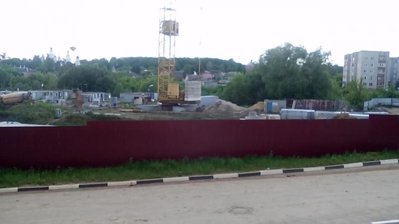 Строящийся четвертый Северо Восточный микрорайон ЖК Парус по ул Хворостухина г Тула