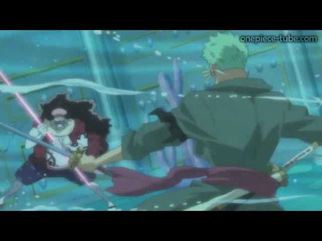 One Piece   Full Fight   Zorro vs Hordy Jones   [HD]  