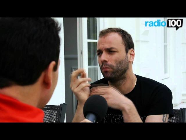Chris fra Muse interview del 3 Radio 100 Ivan Gregersen 3