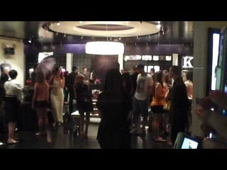 Kim Kardashian visiting her store at the Mirage hotel and casino in Las Vegas