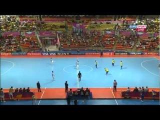 ЧМ-2012. 1/4 финала. Аргентина - Бразилия (2 тайм + от)
