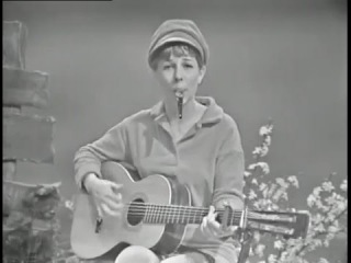 """""""San Francisco Bay Blues"""" performed on kazoo and guitar by Tracy Newman 1965"""
