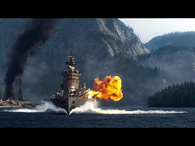 World of Warships Cinematic Steam Trailer