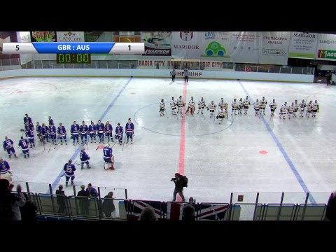 IIHF Women's WC Slovenia GBR AUS