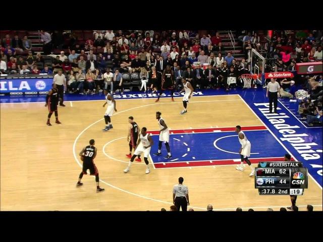 [HD] Miami Heat vs Philadelphia 76ers | Full Highlights | April 15, 2015 | NBA Season 2014/15