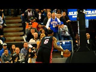 Phantom: LeBron James' Windmill Dunk vs Kings