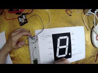 26. Определение назначения ножек (контактов) светодиодных (LED) индикаторов (Урок 4. Практика)