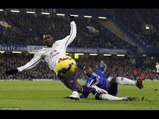Kurt Zouma vs Everton (Home) 11/02/2015