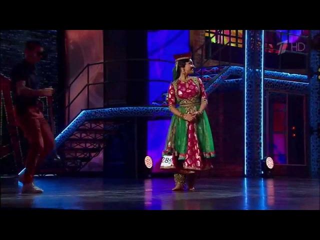 So You Think You Can Dance Bollywood Kathak Maar Dala Devdas Svetlana Tulasi Sergey Lazarev
