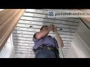 Монтаж установка реечного потолка Часть 2