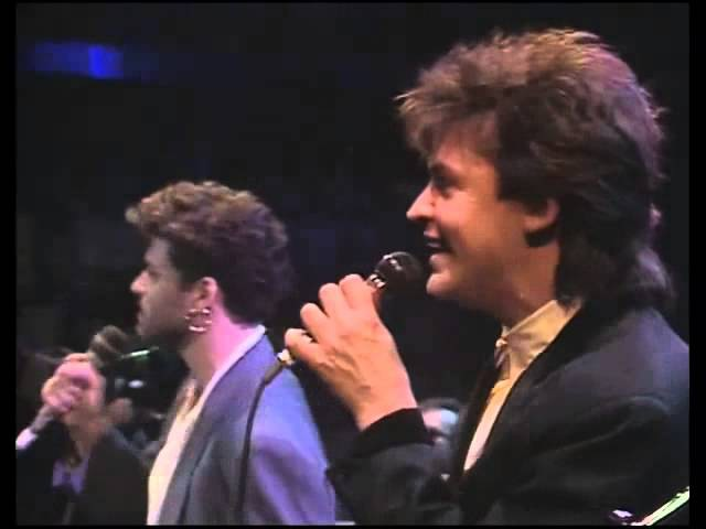 Elton John, George Michael Paul Young - Every Time You Go Away - 1986 (By Lázaro)