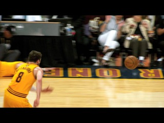 NBA Finals Phantom Raw: Mike Miller's Diving Save